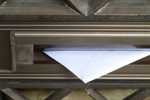 A letter in the mailbox representing what is mod mail